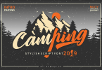 Camping [1 Font] | The Fonts Master