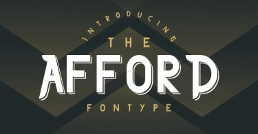 The Afford [3 Fonts] | The Fonts Master