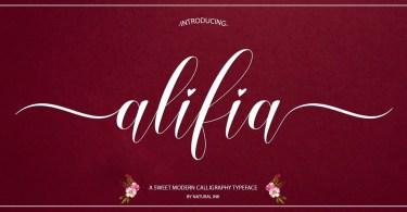 Alifia [2 Fonts]