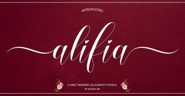 Alifia [2 Fonts] | The Fonts Master