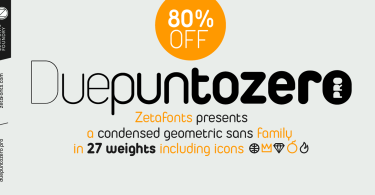 Duepuntozero Pro Super Family [27 Fonts] | The Fonts Master