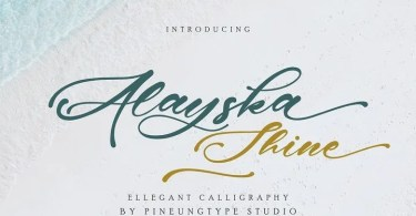 Alayska [1 Font] | The Fonts Master