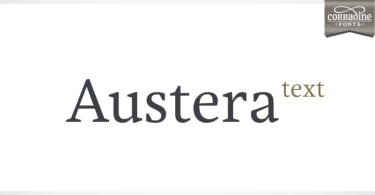 Austera Text Super Family [12 Fonts] | The Fonts Master