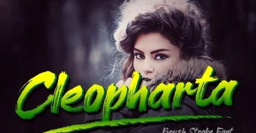 Cleopharta [1 Font] | The Fonts Master