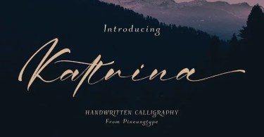 Kattrina [1 Font] | The Fonts Master