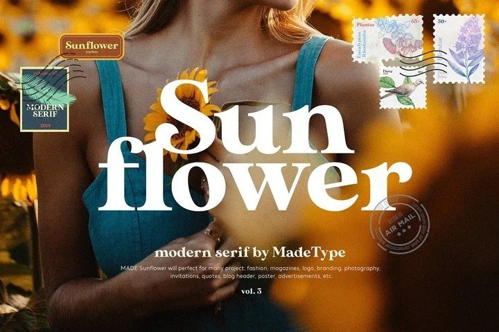 Made Sunflower [1 Font] | The Fonts Master