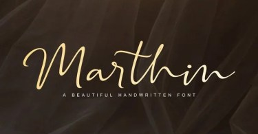 Marthin Script [2 Fonts]   The Fonts Master