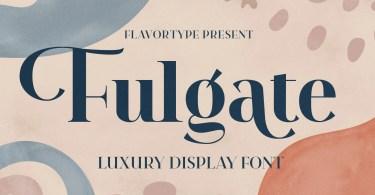 Fulgate [6 Fonts] | The Fonts Master