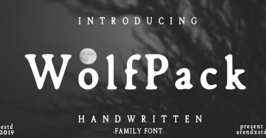 Wolfpack [4 Fonts] | The Fonts Master