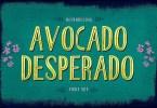 Avocado Desperado [4 Fonts] | The Fonts Master
