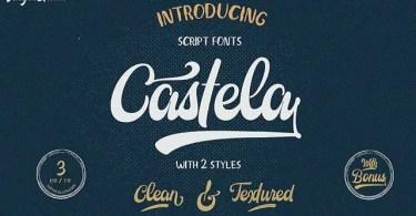 Castela [3 Fonts] | The Fonts Master