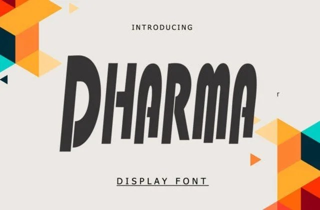 Dharma [1 Font]   The Fonts Master