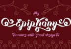 Epiphany [1 Font] | The Fonts Master