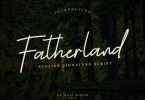 Fatherland [1 Font] | The Fonts Master