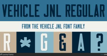 Vehicle Jnl [2 Fonts] | The Fonts Master