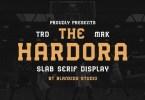 Hardora [1 Font] | The Fonts Master