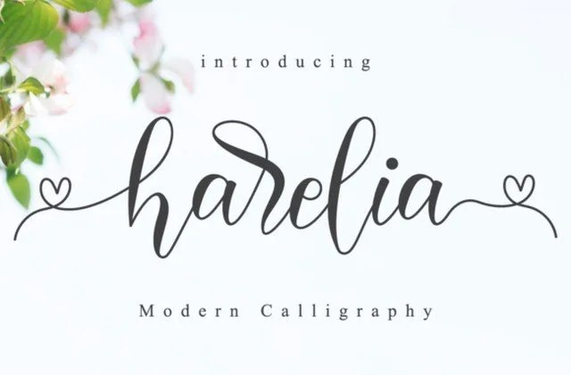 Harelia Script [1 Font]   The Fonts Master