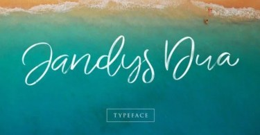 Jandys [3 Fonts] | The Fonts Master