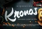 Kronos [1 Font] | The Fonts Master
