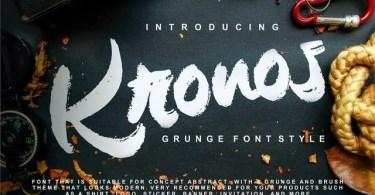 Kronos [1 Font]   The Fonts Master