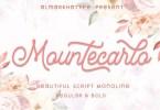 Mountecarlo [2 Fonts] | The Fonts Master
