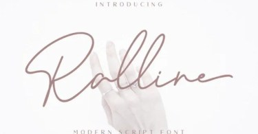 Ralline [2 Fonts] | The Fonts Master