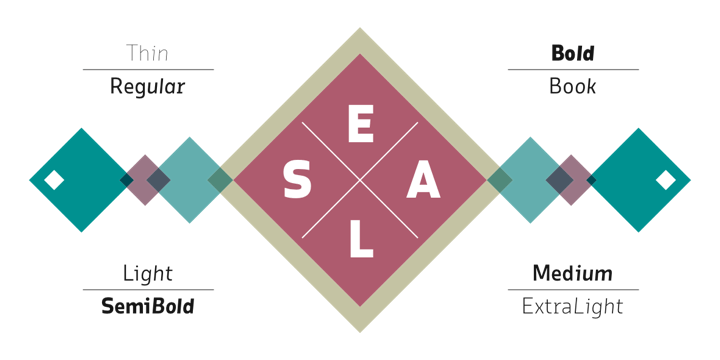 Elsa Super Family [16 Fonts]   The Fonts Master