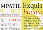 Compatil Exquisit Super Family [4 Fonts] | The Fonts Master