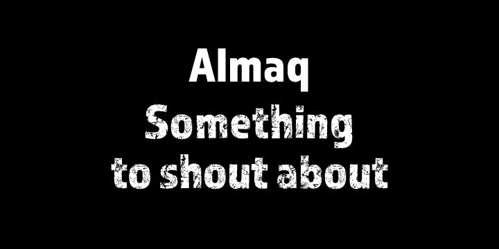Almaq [2 Fonts] | The Fonts Master