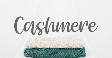 Cashmere [1 Font] | The Fonts Master