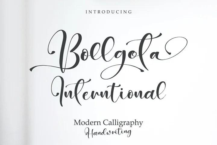 Bollgota [1 Font] | The Fonts Master