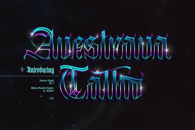 Avestrava Tattoo [1 Font] | The Fonts Master