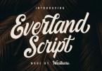 Everland Script [1 Font] | The Fonts Master