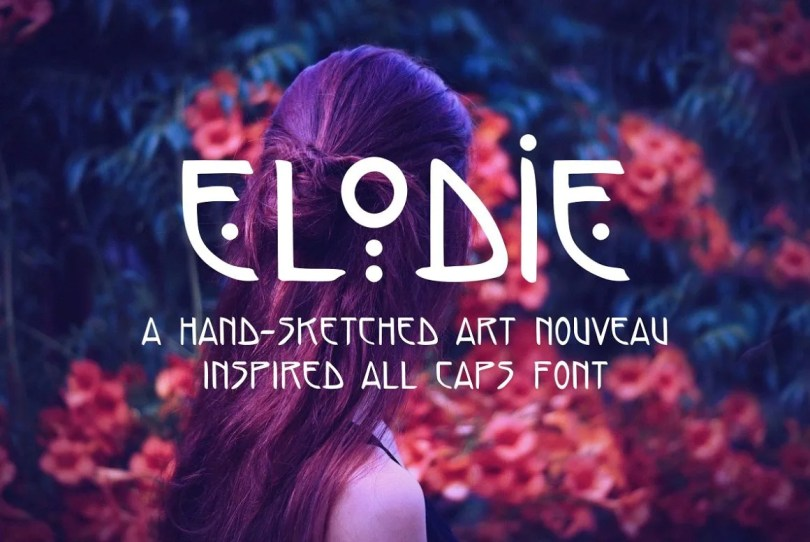 Elodie [1 Font]   The Fonts Master