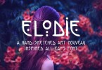 Elodie [1 Font] | The Fonts Master