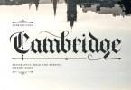 Cambridge [1 Font] | The Fonts Master