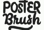 Poster Brush [5 Fonts] | The Fonts Master