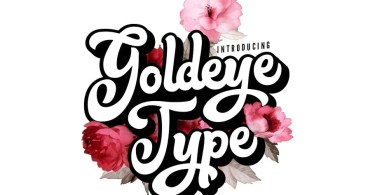 Goldeye Type [1 Font] | The Fonts Master
