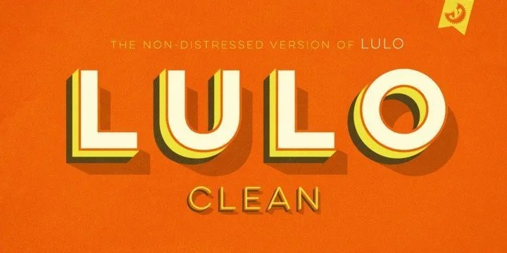 Lulo Clean [10 Fonts] | The Fonts Master
