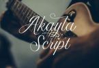Akayla Script [2 Fonts] | The Fonts Master
