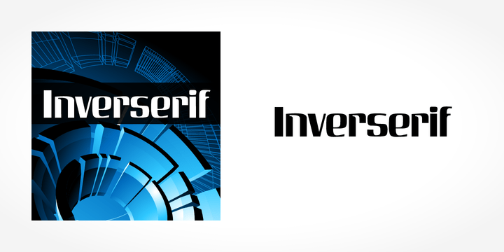 Inverserif [1 Font] | The Fonts Master