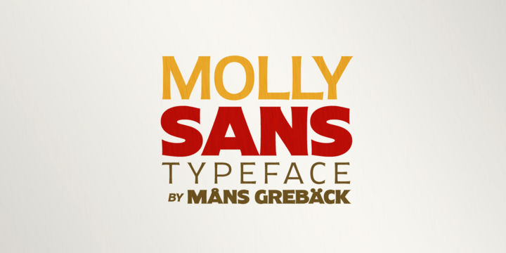 Molly Sans [25 Fonts] | The Fonts Master