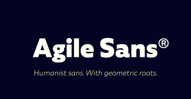 Agile Sans Super Family [18 Fonts] | The Fonts Master