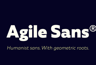 Agile Sans Super Family [18 Fonts]