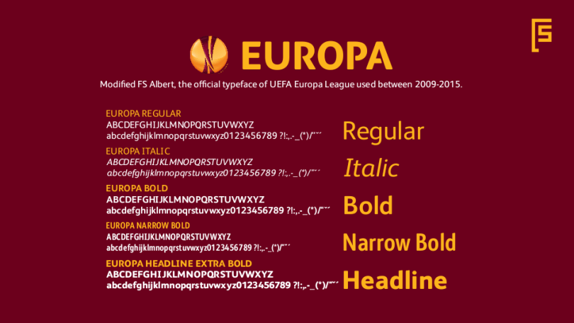 Fs Europa [5 Fonts] | The Fonts Master