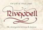 Rivendell [1 Font] | The Fonts Master