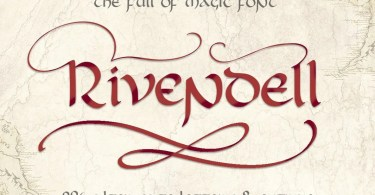 Rivendell [1 Font] | The Fonts Master