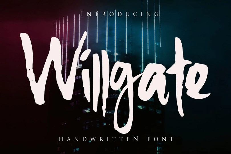 Willgate [1 Font] | The Fonts Master
