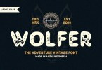 Wolfer [4 Fonts]   The Fonts Master