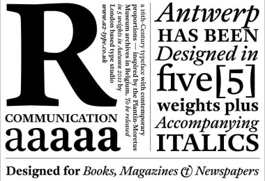 A2 Antwerp Super Family [10 Fonts]